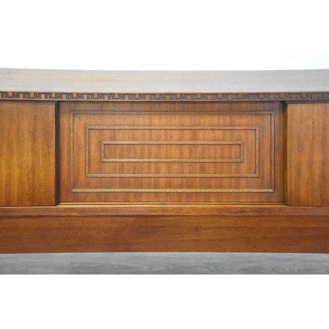 Frank Lloyd Wright for Henredon Taliesin King Headboard For Sale - Image 10 of 13