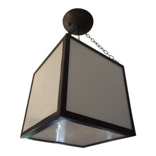 Contemporary Hanging Light Fixture For Sale