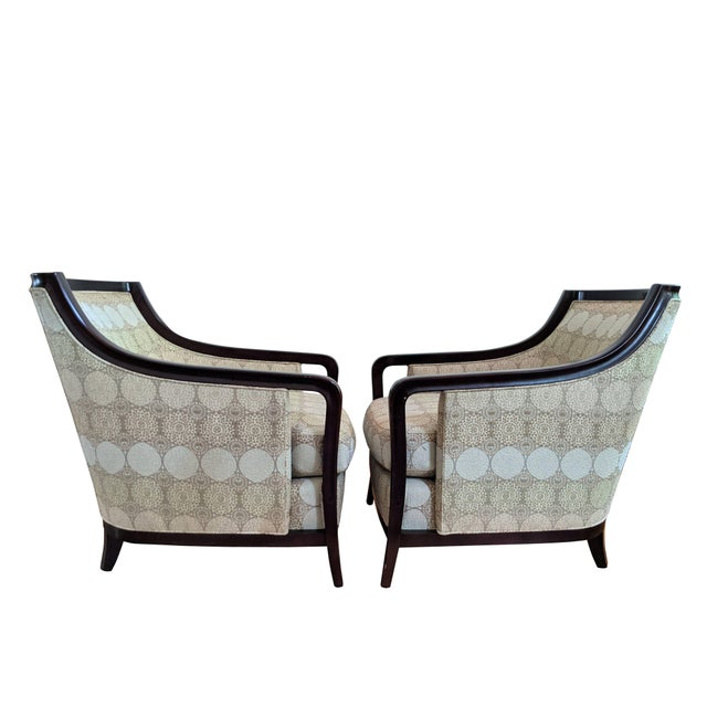 Modern Barbara Barry for Baker Furniture Salon Chairs - a Pair For Sale - Image 3 of 13