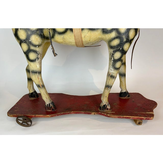 Late 19th Century Painted Toy Horse For Sale - Image 4 of 13