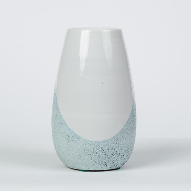 Art Deco Glazed Ceramic Vase by Ettore Sottsass for Bitossi For Sale - Image 3 of 12