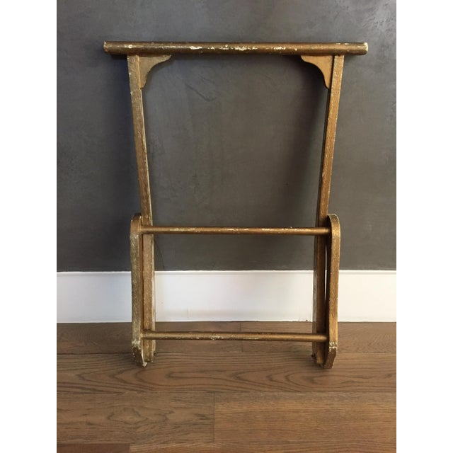 1960s Italian Venetian Florentine Valet Stand For Sale - Image 5 of 9