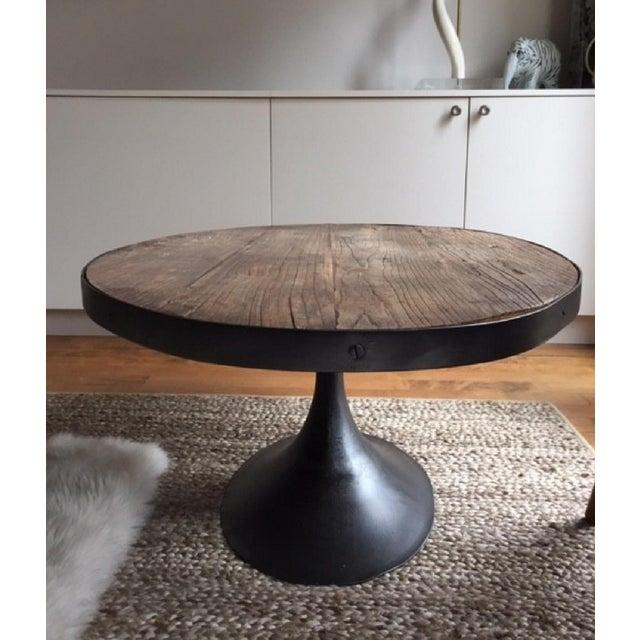 Restoration Hardware Aero Oval Coffee Table - Image 3 of 6