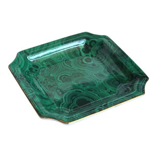 Faux Malachite Small Dish