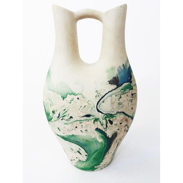 Vintage Large Nemadji Wedding Vase - Image 4 of 6