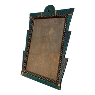 Art Deco Shagreen Picture Frame For Sale
