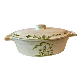Vietri Covered Casserole Dish For Sale