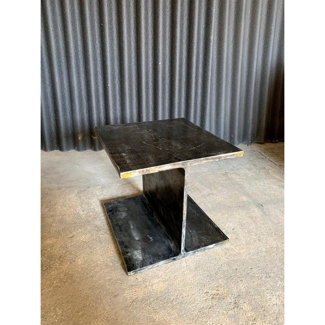 From 1978, comes a wonderful I shaped beam occasional table from Ward Bennett of Brickel Associates. Perfect size to put...