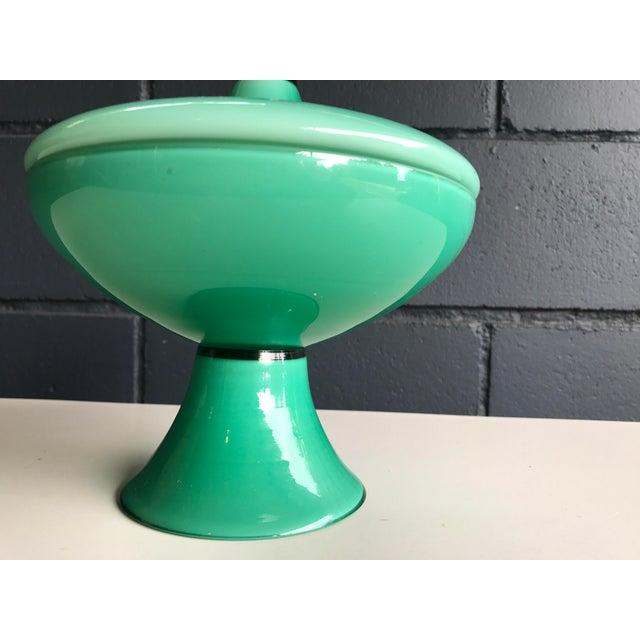 Vintage Aqua Apothecary Jar - Image 4 of 9