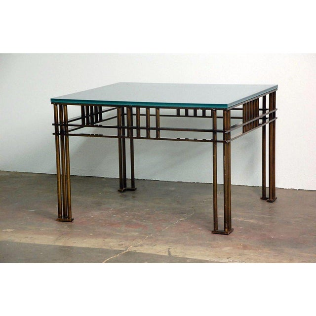 Attila table by Jean-Michel Wilmotte. Interesting proportions. Tall coffee table or low centre table. Referenced and...