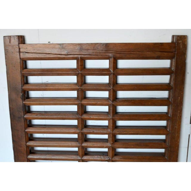 1970s Chinese Wooden Gate/Room Divider For Sale In Los Angeles - Image 6 of 8