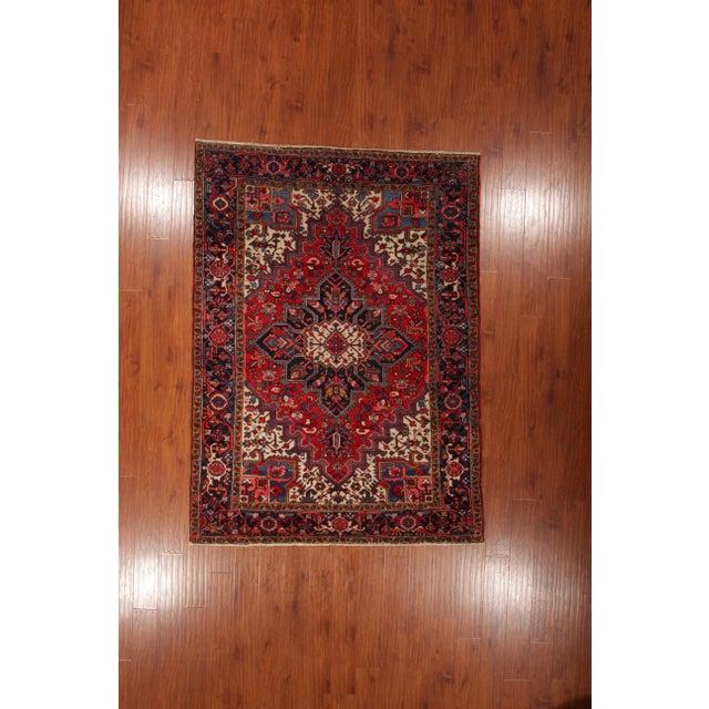 "Vintage Persian Heriz Rug - 6' x 8'5"" - Image 2 of 6"