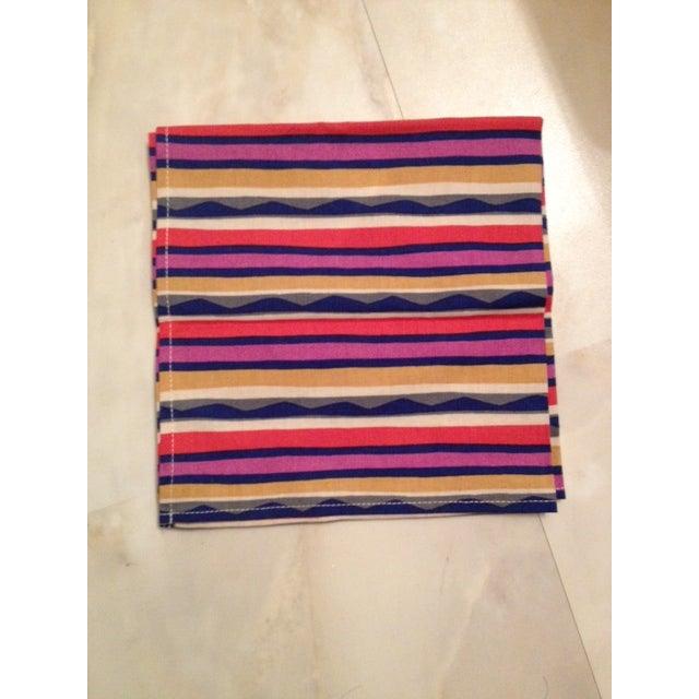 Missoni Striped Home Napkins - Set of 4 - Image 3 of 6