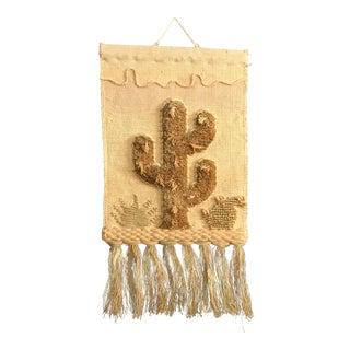 1988 Cactus Textile Art