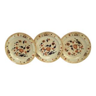 1920s Vintage Wedgwood Porcelain Plates- Set of 3 For Sale