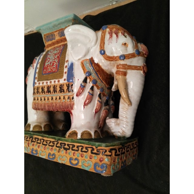 Elephant Decorative Plant Stand - Image 9 of 11