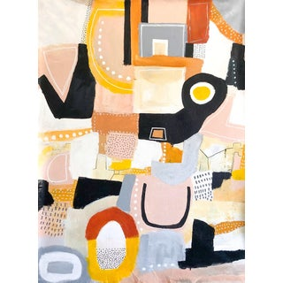 Original Abstract Painting by Seattle Artist Melanie Biehle For Sale