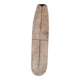 Vintage African Wooden Shield For Sale
