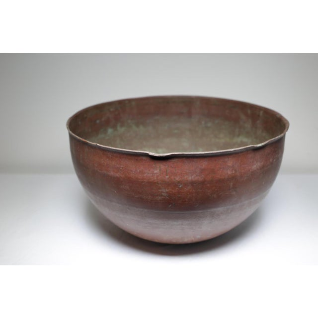 Early 20th Century Large Copper Pot, circa 1930-1950 - Image 3 of 4