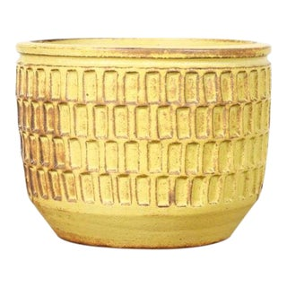 Danish Modern Christian Boehr Ceramic Stoneware Planter For Sale