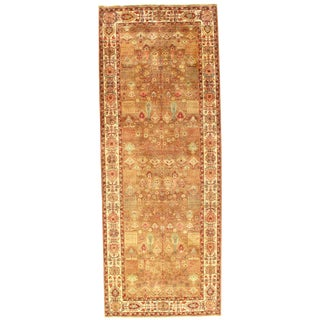 Pasargad Indo Agra New Zealand Wool Rug - 4′ × 10′6″ For Sale