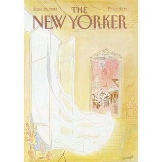 Vintage 1982 New Yorker Cover, June 28 (Jean-Jacques Sempe), Music For Sale