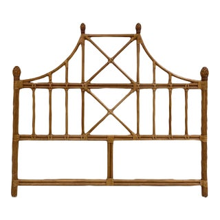 Bamboo Headboard - King Size For Sale