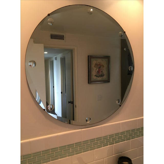 Vintage Art Deco Mirror - Image 6 of 6