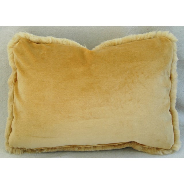 Pierre Frey Plush Lambswool Pillows - A Pair - Image 10 of 10
