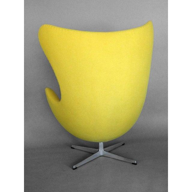 Americana Properly Restored Arne Jacobsen Egg Chair For Sale - Image 3 of 5