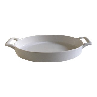Revol Belle Cuisine Shallow Oval White Baking Dish