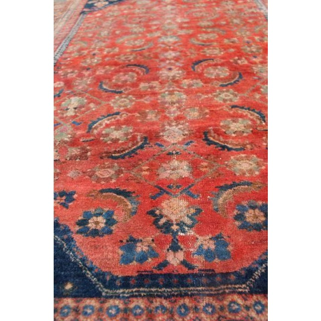 "Vintage Persian Rug - 4'11"" x 6'4"" - Image 6 of 10"