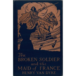 """1919 """"The Broken Soldier and the Maid of France"""" Collectible Book For Sale"""