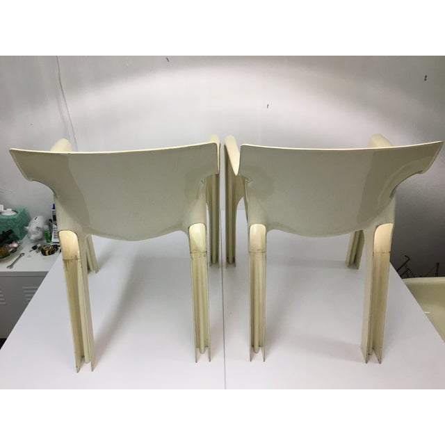 Mid-Century Modern Gaudi Chairs by Vico Magistretti for Artemide - Set of 4 For Sale In New York - Image 6 of 13