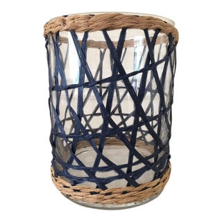 Amanda Lindroth Rattan Covered Hurricane For Sale