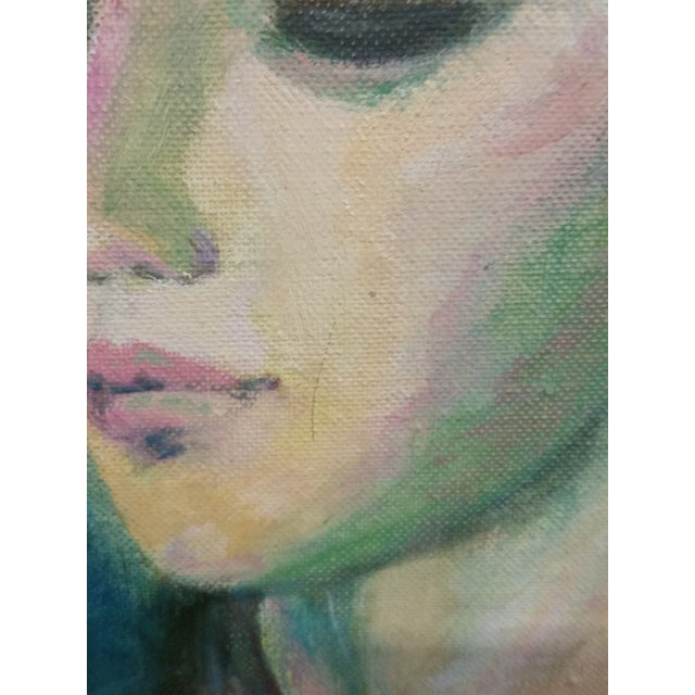Nude Study Oil Painting - Image 6 of 8