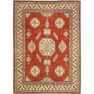 "Cleo, Kazak Area Rug - 11' 0"" X 15' 3"" For Sale"