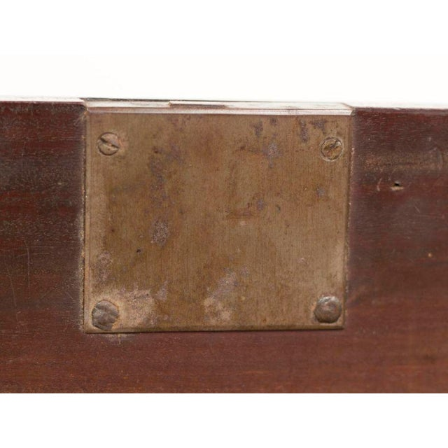 English Traditional 19th Century Georgian Mahogany Chest For Sale - Image 3 of 4