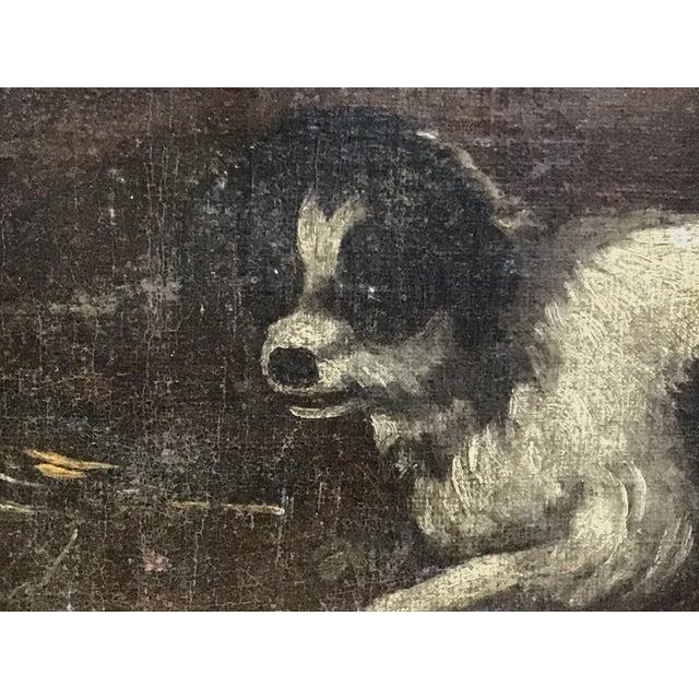 Italian 18th Century Italian Dog Painting For Sale - Image 3 of 11