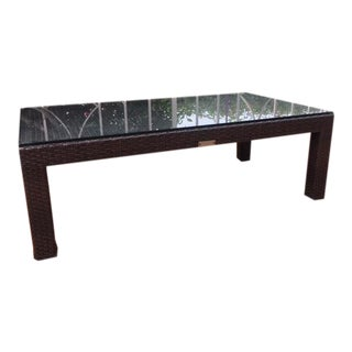 Contemporary Restoration Hardware La Jolla Coffee Table For Sale