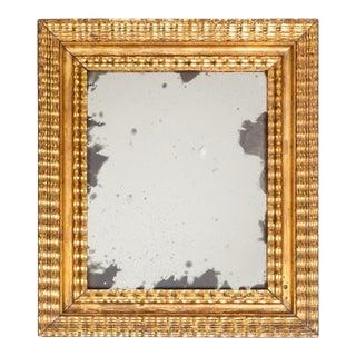 Gilt Framed Baroque Mirror For Sale