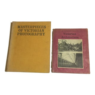 Victorian Architecture & Photography Books - A Pair
