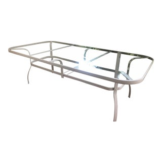 Woodard Rectangular Outdoor Dining Table For Sale