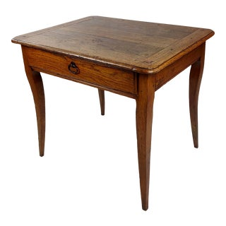 18th Century French Farmhouse Side Table For Sale