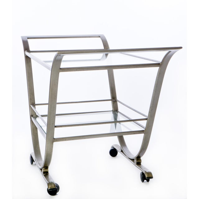 Mid-Century Serving Cart - Image 3 of 3