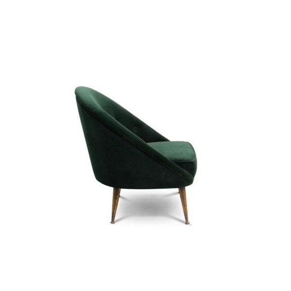 Mid-Century Modern Malay Armchair From Covet Paris For Sale - Image 3 of 6