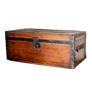 Antique Small Trunk