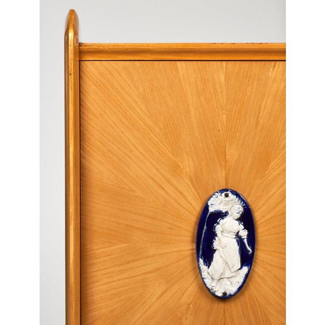 Mid-Century Modern Italian Vintage Cabinet For Sale - Image 3 of 9