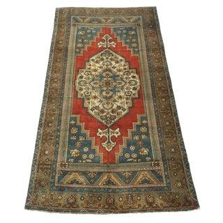 1960s Vintage Anatolian Rug - 5′3″ × 10′ For Sale