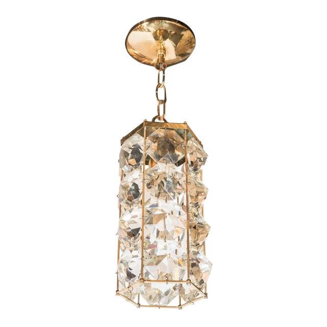 Mid-Century Modernist Pendant Chandelier For Sale